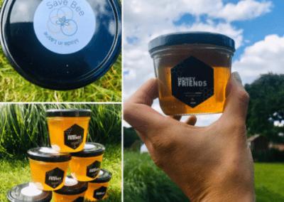 Save Bee - miel de Wallonie sans sucre ajouté